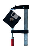 3.5-inch diskette Royalty Free Stock Photo