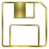 3 5 pouces d'à disque souple Images stock