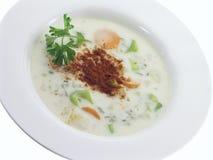 3 5 zup warzywnych Fotografia Stock