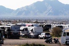 3野营的沙漠 免版税图库摄影