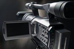 3台照相机录影 库存图片