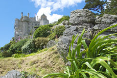 在小山3的城堡 图库摄影