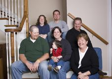поколения потехи семьи имея 3 Стоковые Изображения RF