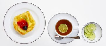 3 8534下午茶时间 免版税库存照片