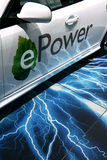 3 9 epower马达巴黎saab显示 免版税库存图片