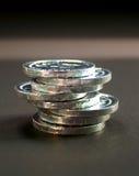 3枚硬币 免版税库存照片