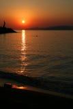 3 ażio Nikolaos wschód słońca Obrazy Stock
