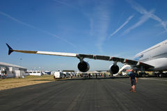 3 a380空中巴士准备 免版税图库摄影