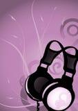 3 abstrakcjonistycznej słuchawki Fotografia Royalty Free