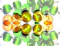 3 abstrakcyjna linia światła Fotografia Stock