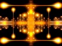 3 abstraktów światło Royalty Ilustracja