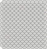 3 abstrakta opierający się okręgu wzoru płytki wektor Zdjęcie Royalty Free