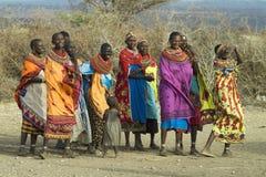 3 afrikanska folk Royaltyfri Fotografi