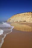 3 algarve海滩 免版税图库摄影