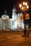 3 almudena catedral de马德里 图库摄影