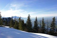 3 alps швейцарского Стоковое Изображение