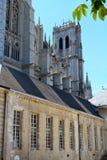 3 amiens大教堂法国 图库摄影