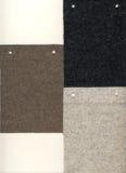 3 amostras de feltro para o fundo Imagem de Stock