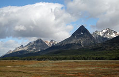 3 Andes gór ushuaia Zdjęcia Royalty Free