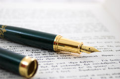 3 antyczne długopis Zdjęcie Stock