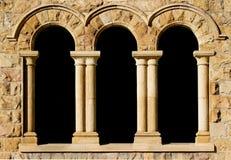 3 archi in arenaria Immagini Stock