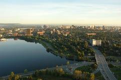 3 arial城市视图 库存照片