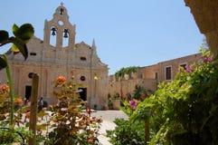 3 arkadi monastary crete Arkivfoto