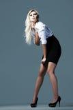 3 atrakcyjna blondynki biznesu dziewczyna Zdjęcie Stock