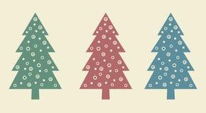 3 Bäume Stockfotos