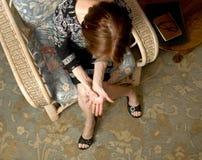 3 bólowa kobieta Fotografia Royalty Free