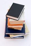 3 böcker ingen stapel Royaltyfri Fotografi