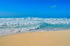 3 błękit morze Obraz Royalty Free