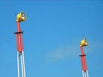 3 bakanu portów lotniczych Zdjęcie Royalty Free