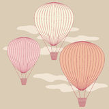 3 balloons Royalty Free Stock Photo