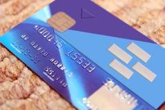 3 banka karty imitacja Obraz Royalty Free