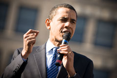 3 baracka Obamy Zdjęcia Stock