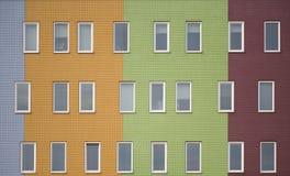 3 barwili wielo- mieszkania Obrazy Stock