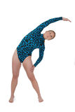 3 bending gymnast side Στοκ εικόνα με δικαίωμα ελεύθερης χρήσης