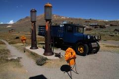 3 benzynowa stara stacja Zdjęcie Royalty Free