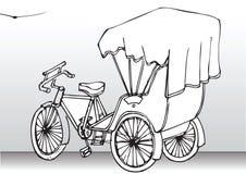 3 bicycle old style wheel Στοκ Εικόνες