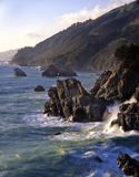 3 big sur wybrzeże Obrazy Royalty Free
