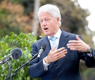 3 Bill Clinton Arkivbild