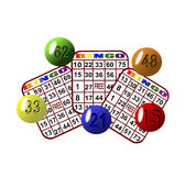 3 bingo Obrazy Stock