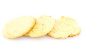 3 biscotti di zucchero Immagine Stock Libera da Diritti