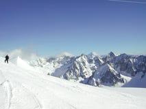 3 blanche vallee 免版税库存图片