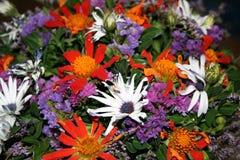 3 blomma givna min till frun Arkivfoto