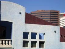 3 blue sky miejskich budynków Zdjęcie Royalty Free