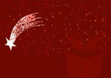 3 bożych narodzeń ilustraci czerwień Zdjęcia Royalty Free