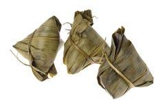 3 bolas de masa hervida del arroz Fotos de archivo libres de regalías
