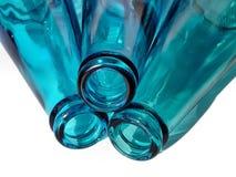 3 bouteilles Photographie stock libre de droits